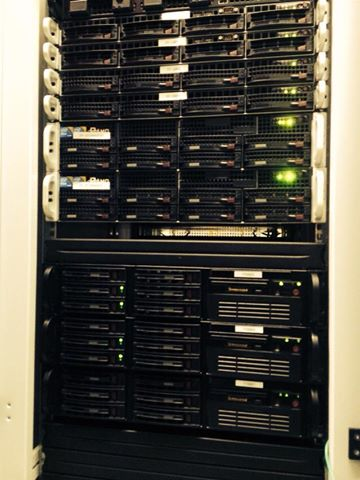 servers in our datacenter